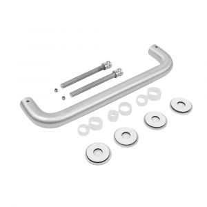 Anodised Aluminium Double (Back to Back) 'D' Pull Handle Kit @ 225mm Centres