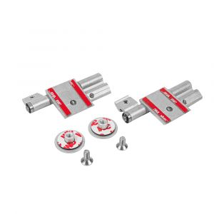 Un-Sprung Hinge Kit - 12mm SGL (Pack of Two)