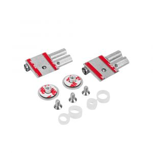 Sprung Hinge Kit - Glass (Pack of Two)
